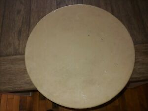 """Vintage Pampered Chef 15"""" Round Pizza Stone Family Heritage Baking Made in USA"""