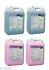 Artificial Grass Disinfectant/Deodoriser Mixed Case of Aromas 4x5ltr