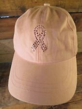 PINK STUFF Breast Cancer Ribbon Adjustable Adult Hat Cap