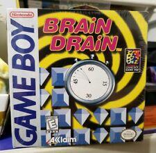 New Factory Sealed Brain Drain (Nintendo Game Boy, 1998) Acclaim Bandai