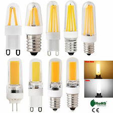 G4 G9 E14 Dimmable 4W 8W 9W LED Silicone Crystal Corn Bulb Light White Lamp 220V