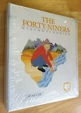 The Forty-Niners History Series by Entrex with 3.5 disk for Apple IIe,IIgs