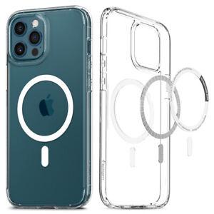 iPhone 12 12 Pro Max 12 Mini Case | Spigen® [Ultra Hybrid Mag] MagSafe Cover