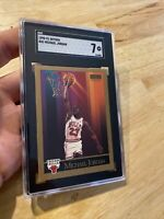 Michael Jordan SGC 7 Skybox 1990 #41 Card Collector Chicago Bulls INVEST GIFT NR