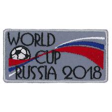 Aufnaeher Patches Stickemblem 9 x 4,5 cm Word Cup Russia 2018 WM 07524