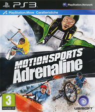 Motion sports adrenaline ps3 playstation 3 IT Import ubisoft