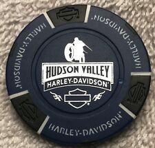 Hudson Valley Harley-Davidson® in Nanuet, NY Collector Poker Chip Blue/Black