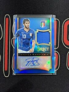 2015-16 Panini Select Soccer ANDREA RANOCCHIA /50 Patch Patch Auto Italy