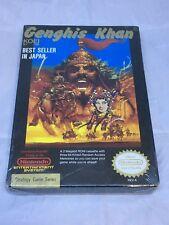 Genghis Khan Nintendo NES NIB Sealed Vintage New Factory Sealed
