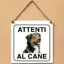 Pinscher austriaco 1 Attenti al cane Targa cane cartello ceramic tles