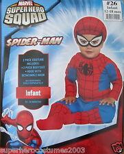 Superhero Squad Spider-Man Infant Costume Marvel Comics 12-18 Months # 26