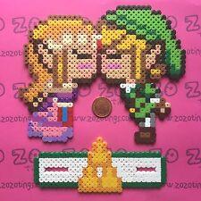 Legend of Zelda pixel wedding cake topper