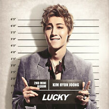 SS501 KIM HYUN JOONG - [LUCKY] 2nd Mini Album CD + Photo Booklet Sealed K-POP