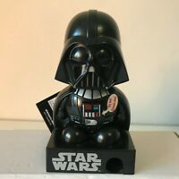 DISNEY STAR WARS Darth Vader Dark Jedi Force Candy Dispenser w/ Sound 11cm Toy