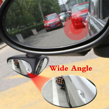 HD Car Blind Spot Mirror Wide Angle Mirror Adjustable Rotation Rearview Mirror