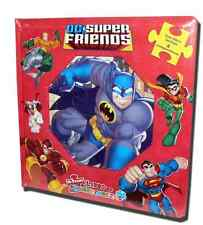 "DC® ""SUPERFRIENDS"" BOOK WITH 4 PUZZLES IN SPANISH, FROM MEXICO 3+"