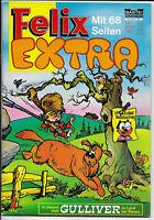 Felix Extra Nr.2 von 1970 mit Poster Käpt´n Knaller - TOP Z1 BASTEI COMICHEFT