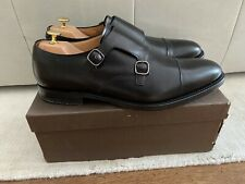 Church's Detroit Double Monk Shoe Gr. 10/44 *schwarz*