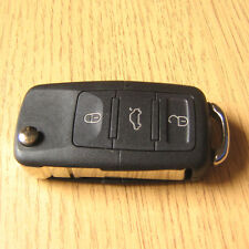 Replacement 3 Button Remote Flip Key FOB Case VW Golf mk4 Bora Polo Passat