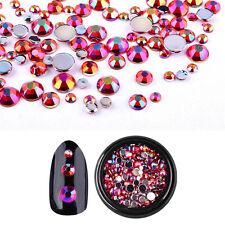 Bling Glitter 3D Nail Art Decorations Alloy Rhinestone Charm Cute Tips Stickers