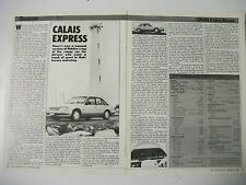 HOLDEN VK CALAIS 5-LITRE V8 MANUAL MAGAZINE ROAD TEST