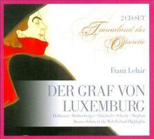 LEHAR: DER GRAF VON LUXEMBURG [GERMANY] NEW CD