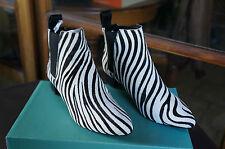 Clarks Lulworth Cove, Boots femme - Noir (Animal Print), 36 EU