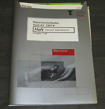 Werkstatthandbuch Audi A3 Quattro + Front Typ 8L Fahrwerk Eigendiagnose ab 1997