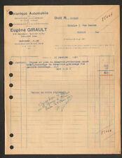"""SAINT-JEAN-du-VAR / TOULON (83) MECANIQUE AUTOMOBILE """"Eugene GIRAULT"""" en 1950"""