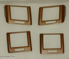 Land Rover FEO Range Rover Sport 2006-2007 Cherry Wood A/C Vent Applique Kit NEW