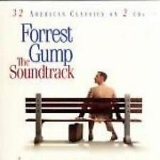 Forrest Gump: The Original Soundtrack MUSIC AUDIO CD Movie Elvis Dylan 2CD w/Art