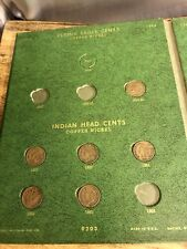 Flying Eagle/Indian Head Cent Orginal Book Collection 1856-1909 Incomplete