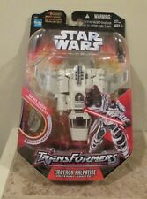 Star Wars Transformers Emperor Palpatine Imperial Shuttle - 2006 - Hasbro