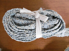 Grand Ruban ancien Galon ou Passementerie bleue 500cm x 2,3cm, Couture Mercerie