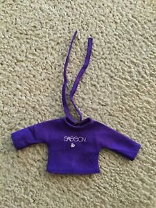 1981 Vogue Ginny Sasson Designer Fashions #30-1755/A Dark Purple Shirt 3/4 Sleev