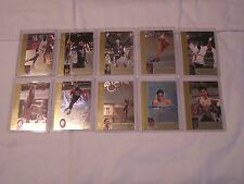 Upper Deck Olympic 1996 USA Olympic REFLECTIONS OF GOLD Insert set of 10