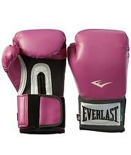 Ladies Everlast Pink Pro Style Training Gloves Kick Boxing Sports Exercise Gift