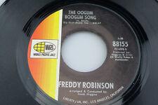 Freddie Robinson: The Oogum Boogum Song / Black Fox  [Unplayed Copy]