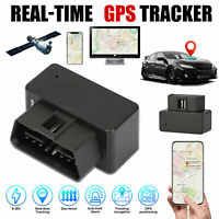 OBD2 GPS Tracker Real Time Vehicle Tracking Device for Car Truck Locator OBD II