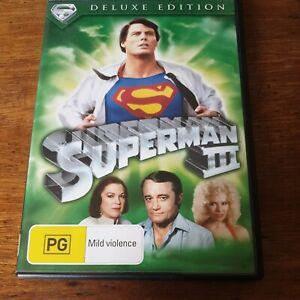 Superman 3 III DVD R4 Like New! FREE POST