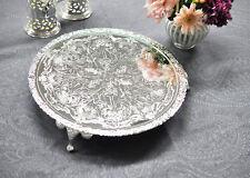 Vintage Bandeja de Soporte de pastel plateado plata Hecho en Reino Unido la venta de regalo