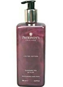 New Pecksniff's Sugared Fig & Plum Moisturizing Hand Wash Ltd Edition 16.9 FL Oz