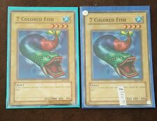 7 colored fish Yu-Gi-Oh card misprint
