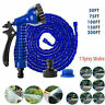 25-200FT Expanding Flexible Expandable Garden Water Hose Pipe + Spray Nozzle USA