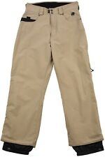 BURTON FOR Womens LADY SNOWBOARD SKI Pants Size S Beige WINTER Zip Fly High Rise