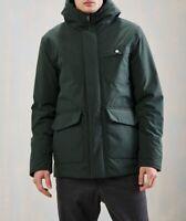 Elvine Mens Morten Cosy Jacket Relaxed Bottle Green Size M