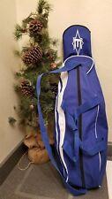 blue Easton baseball duffle bag