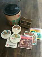 Vintage original GAF Viewmaster Gift Pak including 38 reels..266 pictures