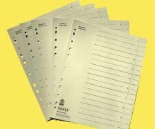 Original FALKEN Trennblätter A4 Qualiät Register blanko Registratur Trennpappen