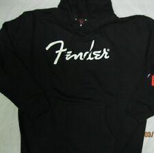 large fender heavy black hoodie logo large size hoodie black hoodie